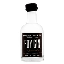 Small Batch Cornish Foy Gin Miniature 50ml 40% ABV