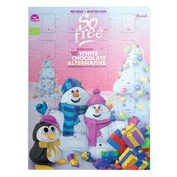 Organic So Free Vegan White Chocolate Advent Calendar by Plamil 110g (Dairy Free)