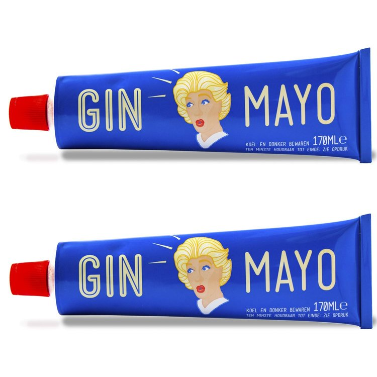 2 x 'Gin Mayo' Gin Infused Mayonnaise 170ml