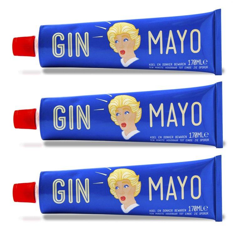 3 x 'Gin Mayo' Gin Infused Mayonnaise 170ml