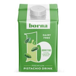 Premium Pistachio Nut Milk Alternative Drink Unsweetened 500ml (Dairy Free, Vegan)