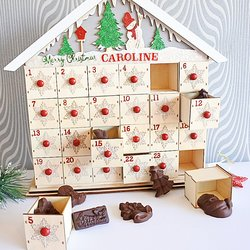 Vegan Milk Chocolate Advent Calendar