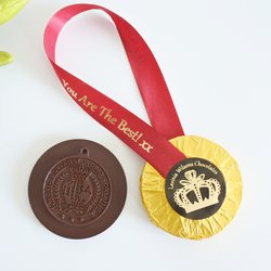 'You Are The Best' Vegan Dark Chocolate Medal