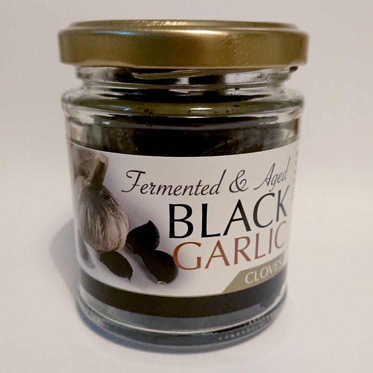 Peeled Aged Black Garlic Cloves 100g