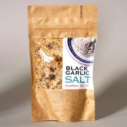 Black Garlic Sea Salt Flakes 50g