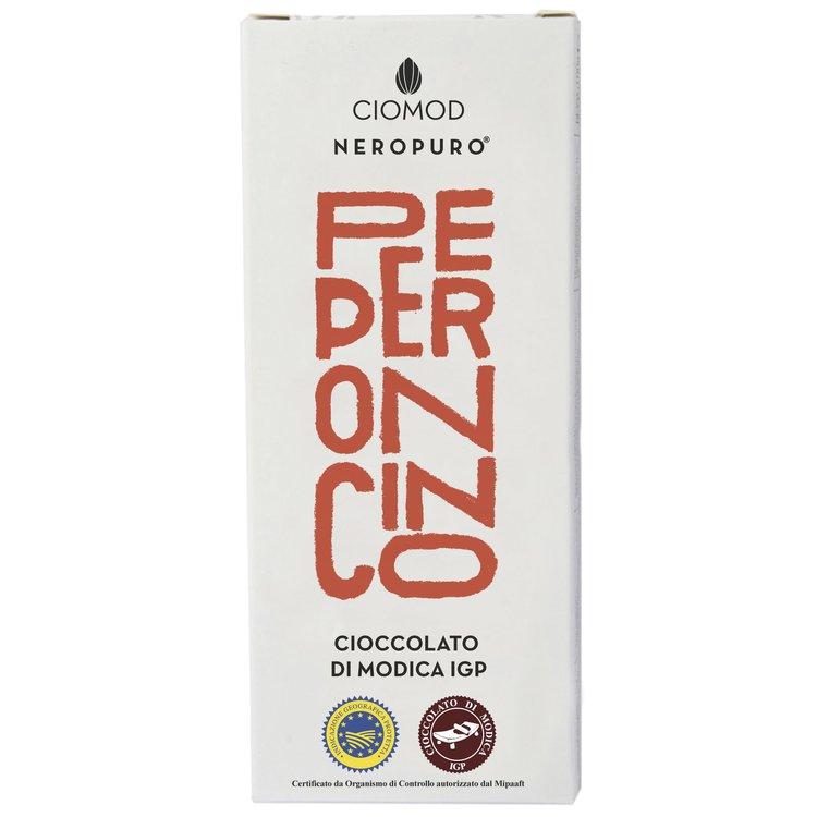 Chilli Pepper Modica Chocolate Bar 'Peperoncino' I.G.P 100g (Dairy Free, Vegan)