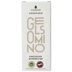 Jasmine Modica Chocolate Bar 'Gelsomino' I.G.P 100g (Dairy Free, Vegan)