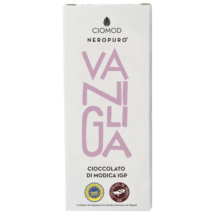 Vanilla Modica Chocolate Bar 'Vaniglia' I.G.P 100g (Dairy Free, Vegan)