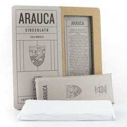 Handmade Arauca 'Bean to Bar' Modica Chocolate Bar 50g (Dairy Free, Vegan)