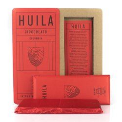 Handmade Huila 'Bean to Bar' Modica Chocolate Bar 50g (Dairy Free, Vegan)