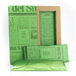 Handmade Modica Chocolate Bar with Thyme 50g (Dairy Free, Vegan)
