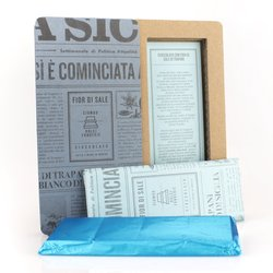 Handmade Modica Chocolate Bar with Trapani Sea Salt 50g (Dairy Free, Vegan)