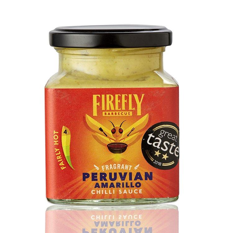 Peruvian Amarillo Sweet Rocoto Chilli Sauce (Fairly Hot) 230ml