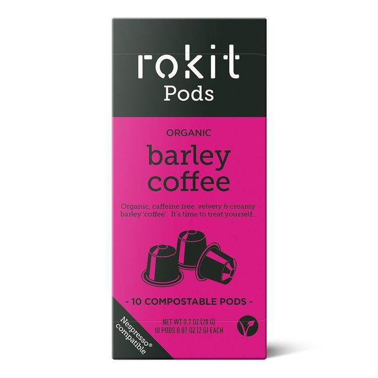 10 Organic Barley Coffee Nespresso Compatible Pod Capsules