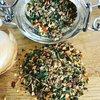 Smoked Garlic Spicy Italian Seasoning Blend Mix in Kilner Jar 30g