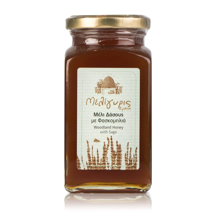 Cretan Woodland Honey with Sage 450g