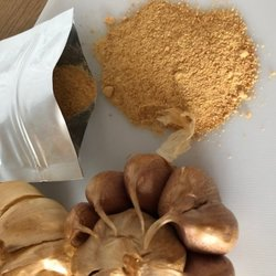 Ground Smoked Garlic Powder Refill Pack 50g