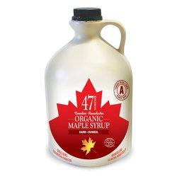 2 x Organic Canadian Dark Maple Syrup Jug 500ml