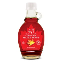 3 x Organic Canadian Amber Maple Syrup 250g