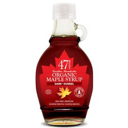 3 x Organic Canadian Dark Maple Syrup 250g