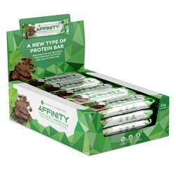 12 x Mint Chocolate Protein Snack Bar Box with Whey Isolate (12 x 63g)