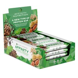 12 Bar Selection Whey Protein Snack Bar Box Inc. Mint Chocolate, Cookie Dough & Peanut Flapjack (12 x 63g)