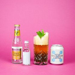 'Mocktail' Non-Alcoholic Cocktail Gift Set with Recipe Card (Makes 'Espresso Tonic' & 'Berry Sour')