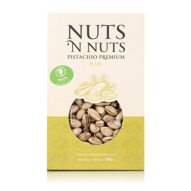Greek Raw Pistachios 230g
