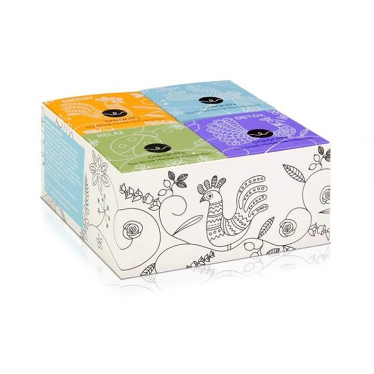 The Greek Herbal Tea Collection Gift Set