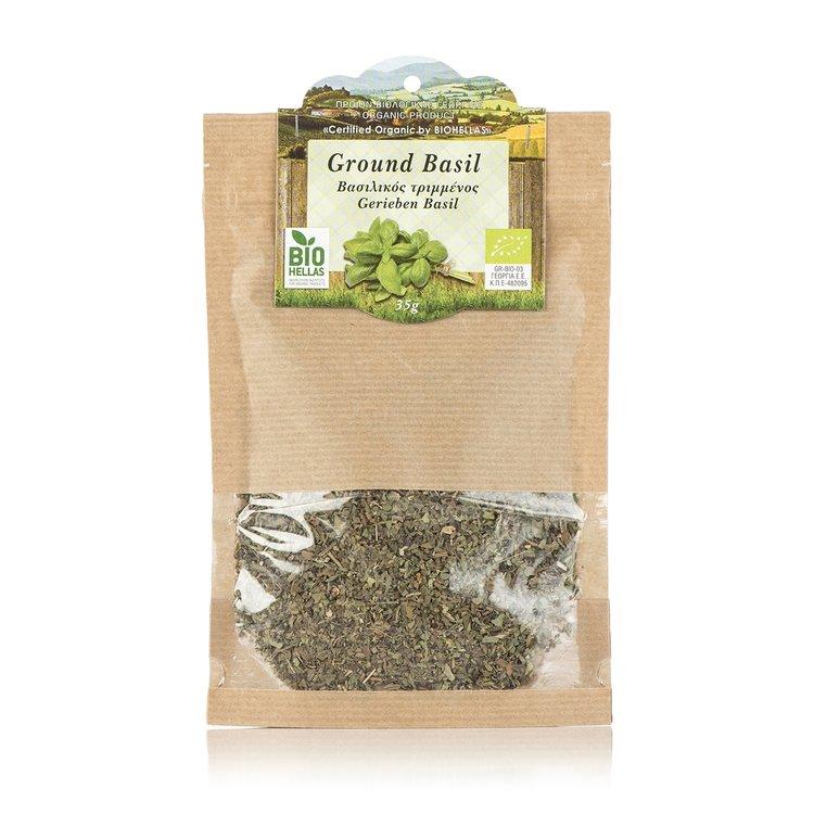 Organic Dried Basil 35g