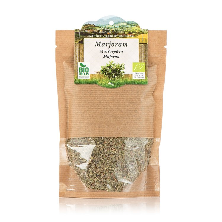 Organic Cretan Marjoram 40g