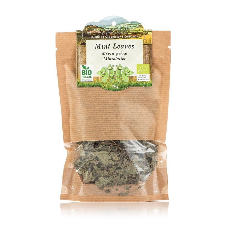 Organic Cretan Mint Leaves 20g