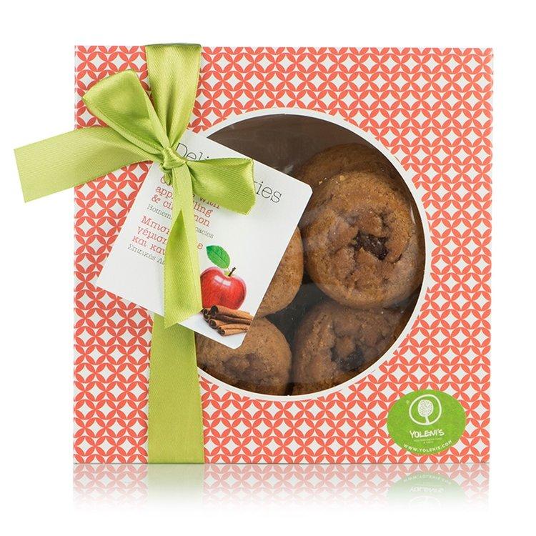 Apple & Cinnamon Handmade Biscuits 350g
