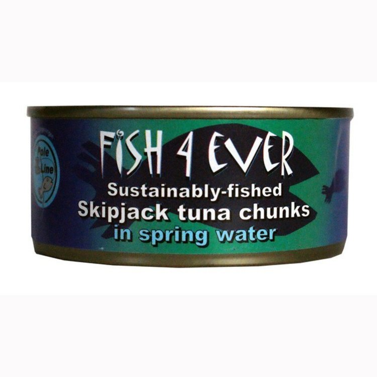Fish4ever skipjack tuna chunks in spring water 160g