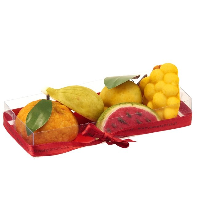 Sicilian Marzipan Fruits 350g