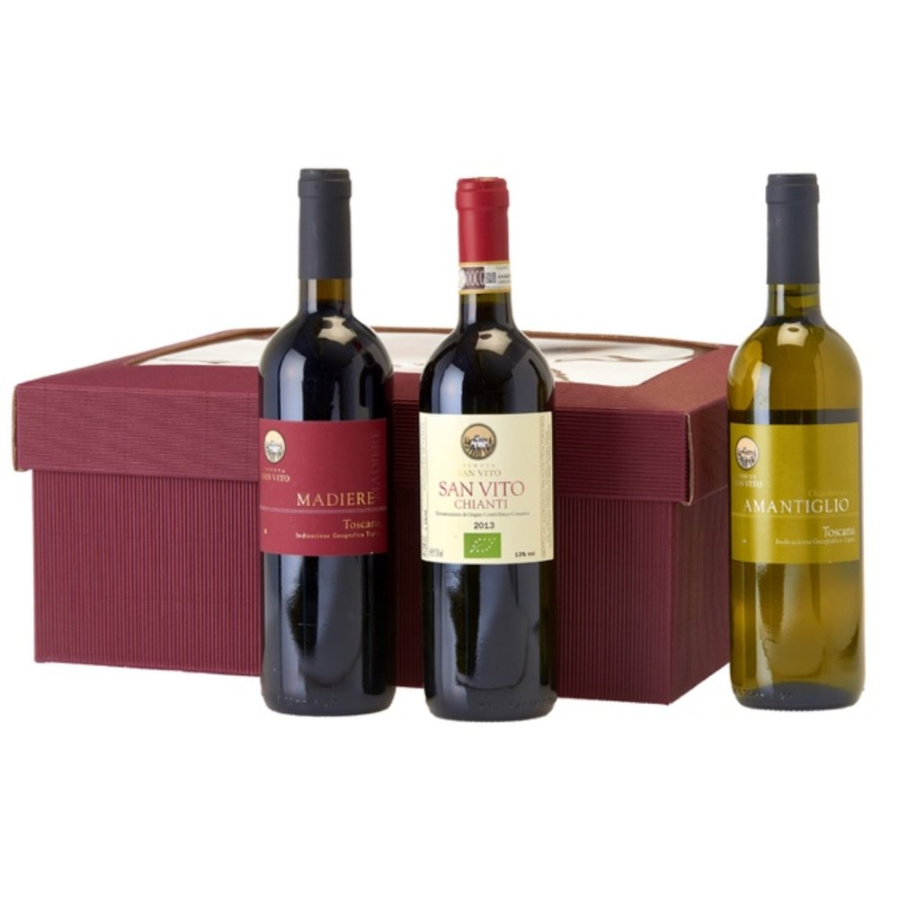 Christmas Wine Gift Set