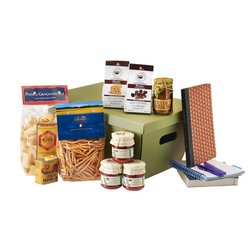 7 Day Student Italian Survival Gift Box - Easy Meals Inc. Risotto, Pasta, Sauces & Oil