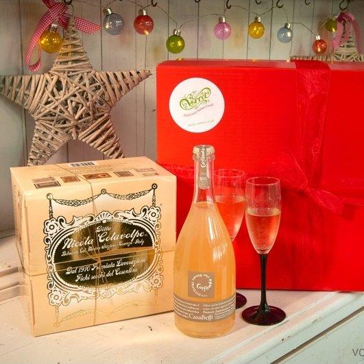 Handmade Panettone & Organic Prosecco Gift Box
