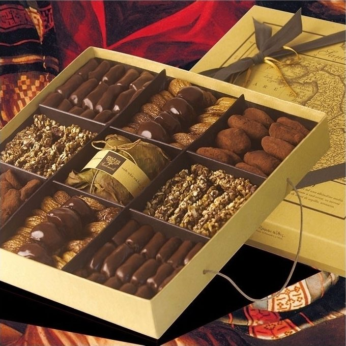 'Le Terroir' Luxury Fig & Chocolate Gift Box 1kg