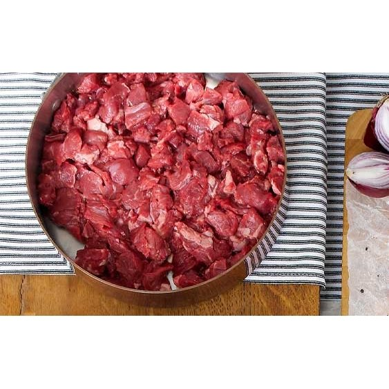 Sussex Beef Sliced Braising Steak 1kg