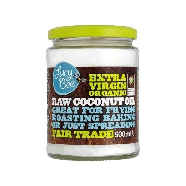 Lucy Bee Organic Raw Coconut Oil 500ml