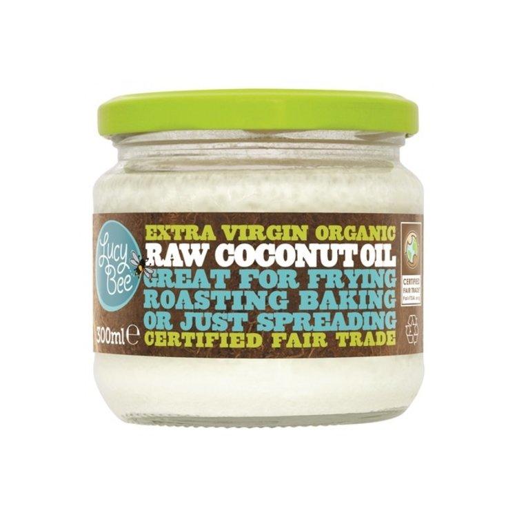 Lucy bee raw organic coconut oil 300ml