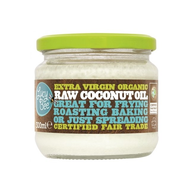 Lucy Bee Organic Raw Virgin Coconut Oil 300ml