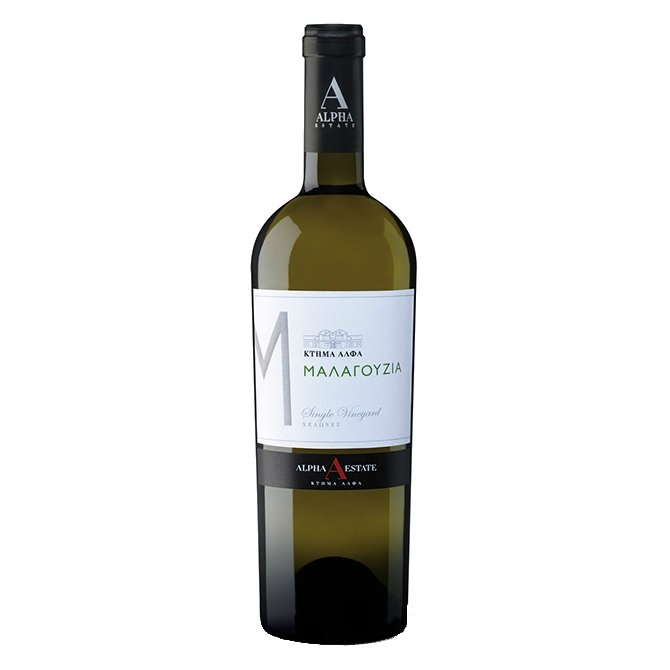 Malagouzia Single Vineyard 'Turtles' Alpha Estate Greek White Wine 2015