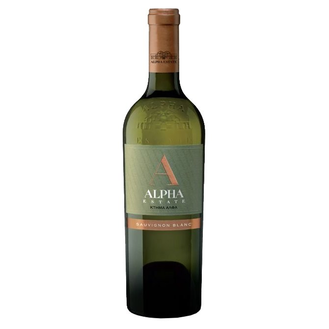 Sauvignon Blanc Alpha Estate Greek White Wine 2015