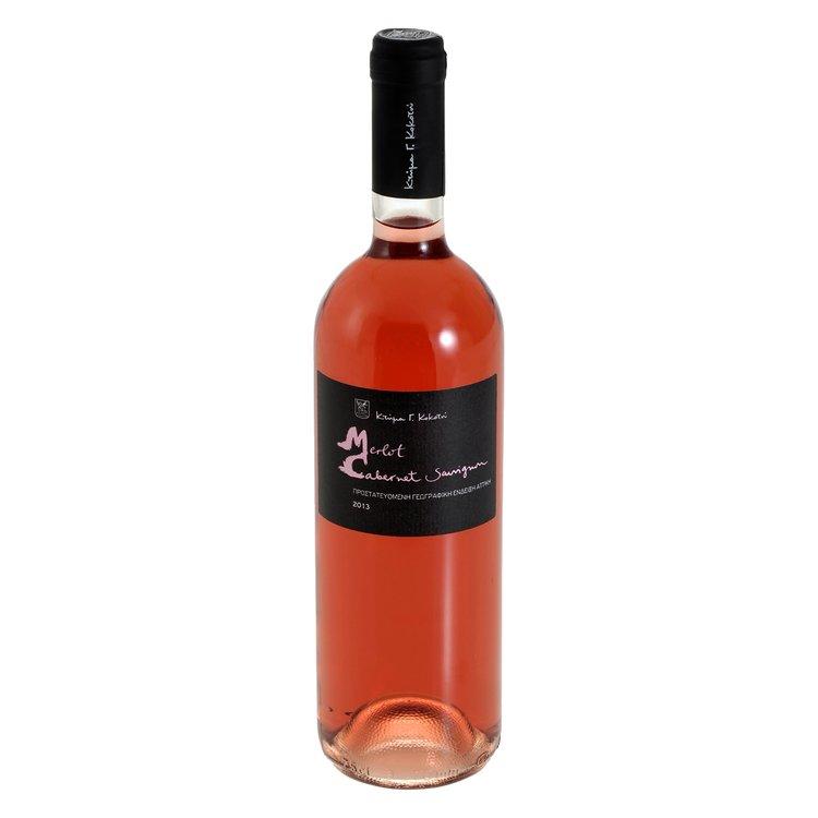 Merlot-Cabernet Sauvignon Rosé Wine 2014 750ml