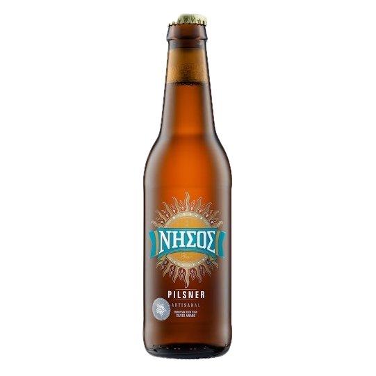 Greek Pilsner Beer 5.0% 330ml (Cyclades Microbrewery)