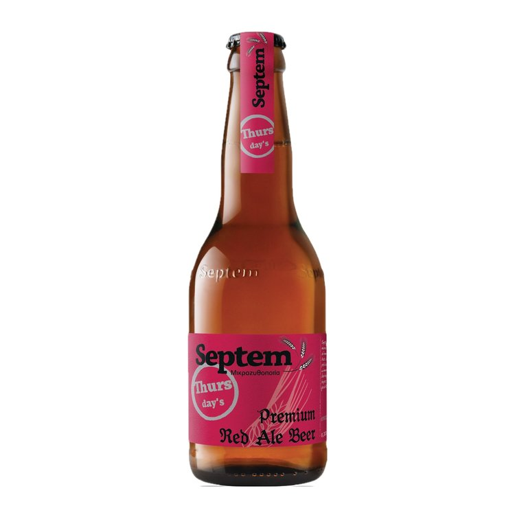 Thursday's Red Ale Greek Beer 4.5% 330ml