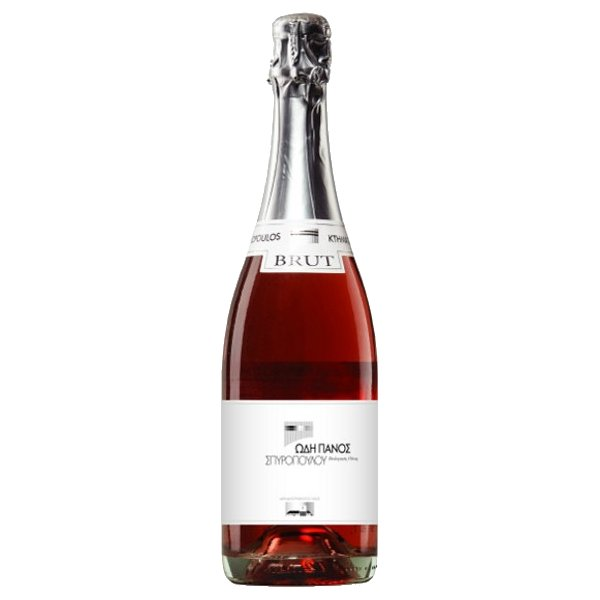 Organic Moschofilero-Agiorgitiko Mantinia Rose Sparkling Wine PDO 2013 12% Vol