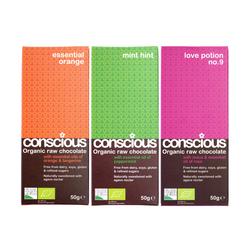 3 x Essential Organic Chocolate Bar Set 50g